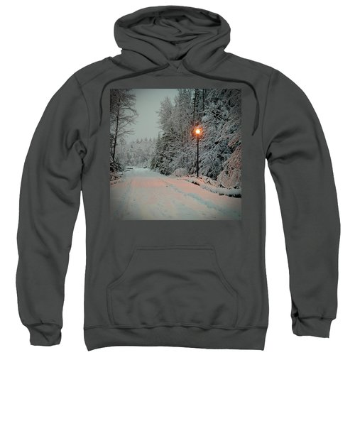 Snowy Road Sweatshirt