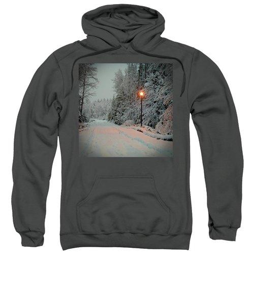 Snowy Road Sweatshirt