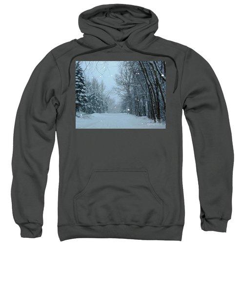 Snowy Street Sweatshirt
