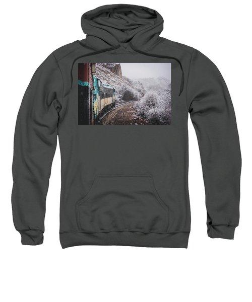 Snowy Verde Canyon Railroad Sweatshirt