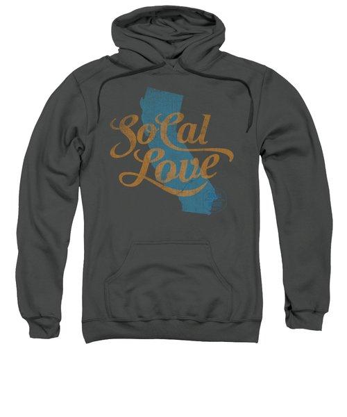 Socal Love Sweatshirt by Jason Richard
