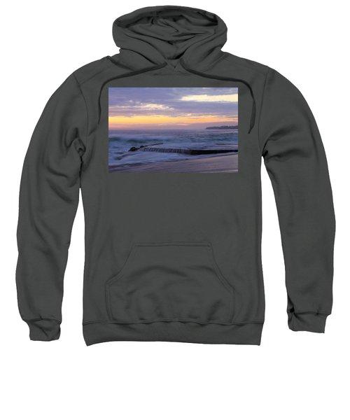 Soft Light On Victoria Beach Sweatshirt