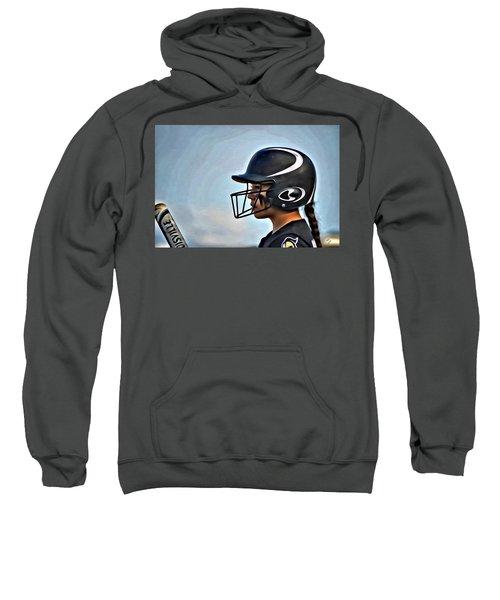 Softball Beauty Girl Sweatshirt