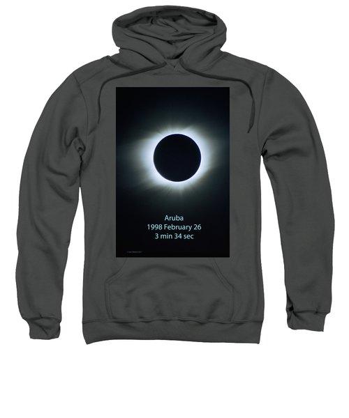 Solar Eclipse Aruba 1998 Sweatshirt