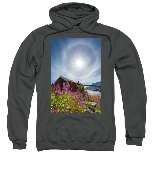 Solar Halo Above Rorbu Sweatshirt