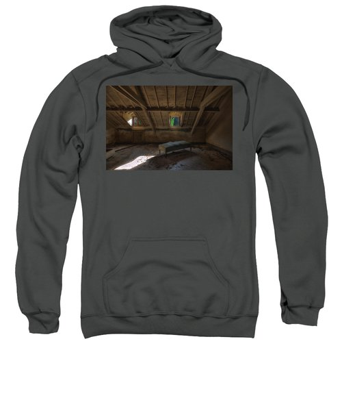 Solitary Bed Under The Roof  - Letto Solitario Sotto Il Tetto Sweatshirt