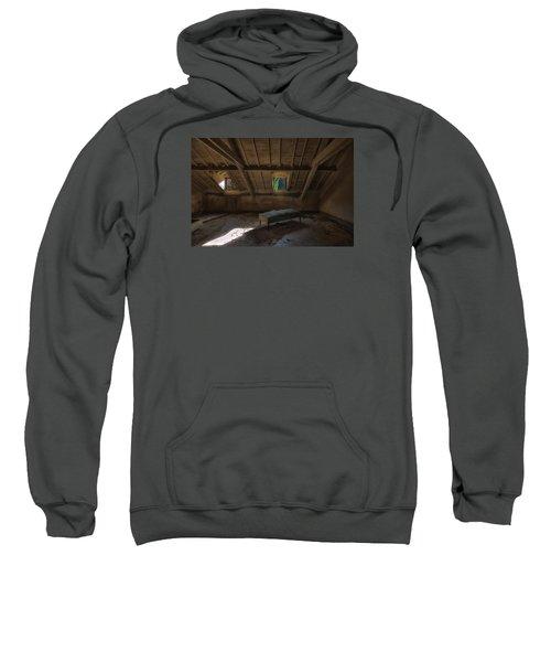 Solitary Bed Under The Roof  - Letto Solitario Sotto Il Tetto Sweatshirt