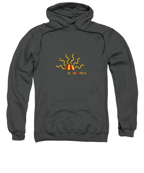 Solitary Seagull Sweatshirt by Valerie Anne Kelly