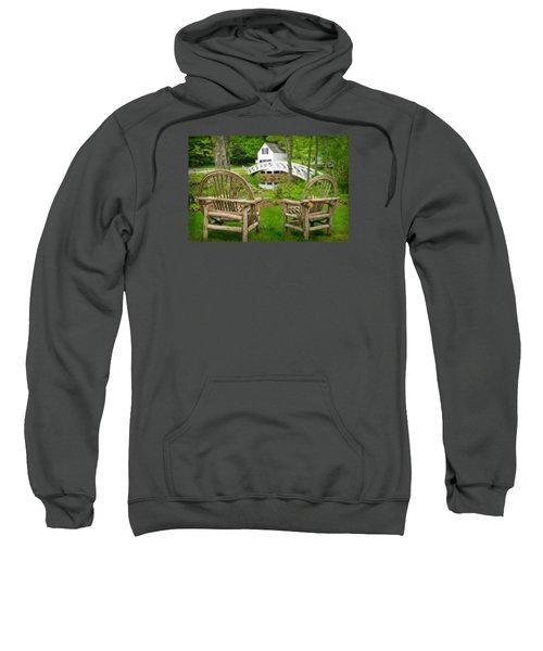 Somesville Maine - Arched Bridge Sweatshirt