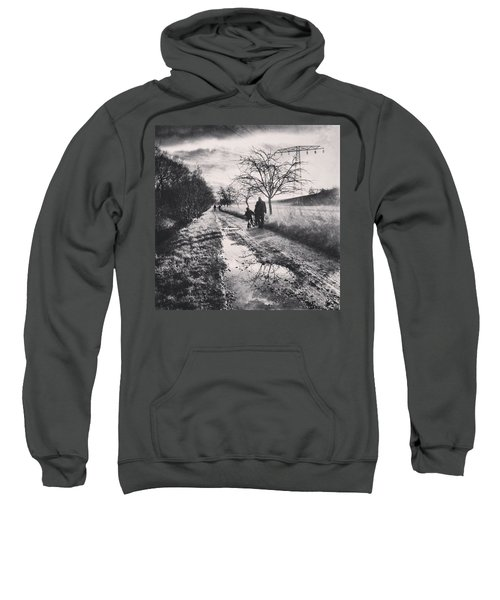 *sonntagsspaziergang  #landscape Sweatshirt