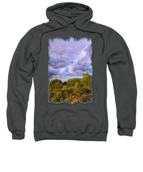 Sonoran Desert V13 Sweatshirt by Mark Myhaver