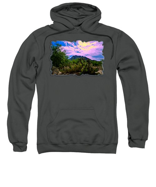 Sonoran Morning H54 Sweatshirt by Mark Myhaver