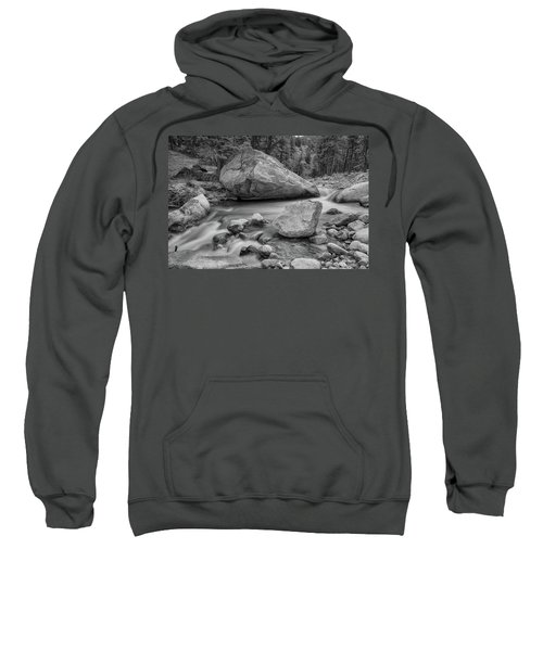 Soothing Colorado Monochrome Wilderness Sweatshirt by James BO Insogna