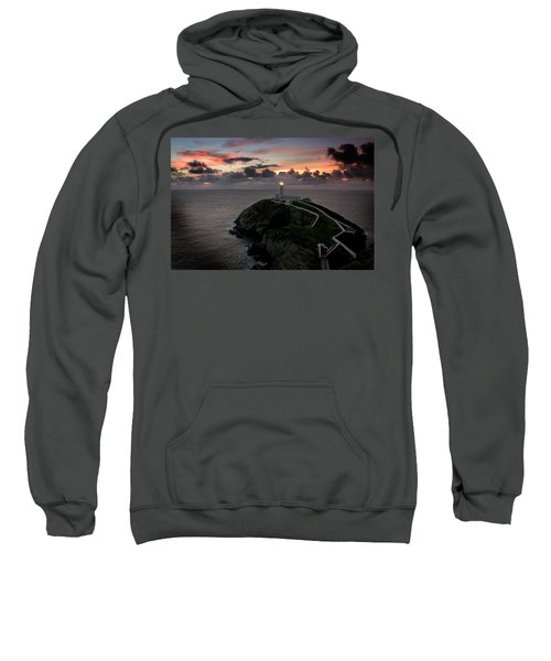 South Stack At Sunset Sweatshirt