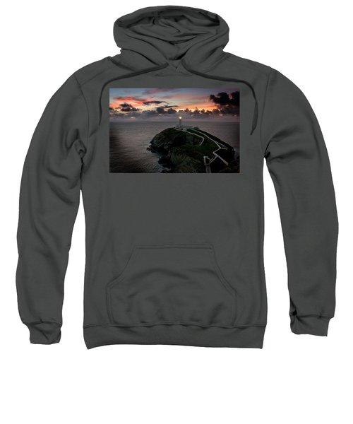 South Stack At Sunset Sweatshirt