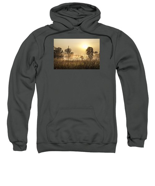 Southern Michigan Foggy Morning  Sweatshirt
