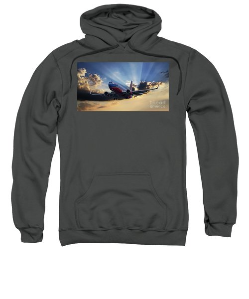 Southwest Dramatic Rays Of Light Sweatshirt