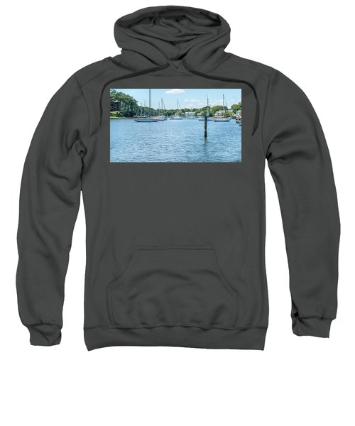 Spa Creek In Blue Sweatshirt