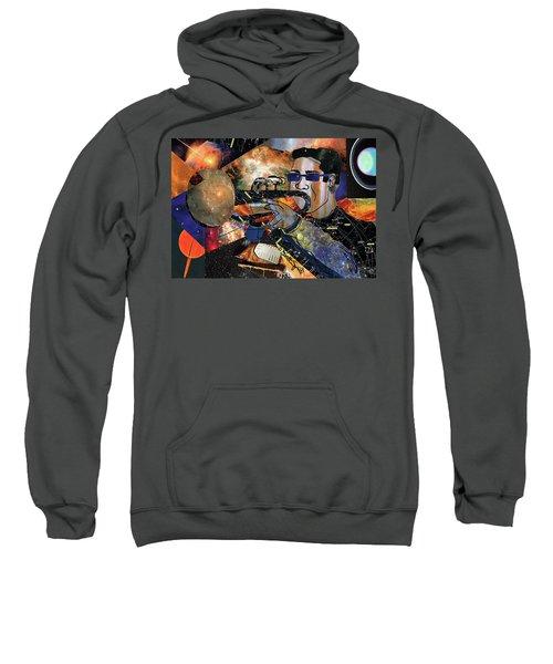 Space Trumpet Sweatshirt