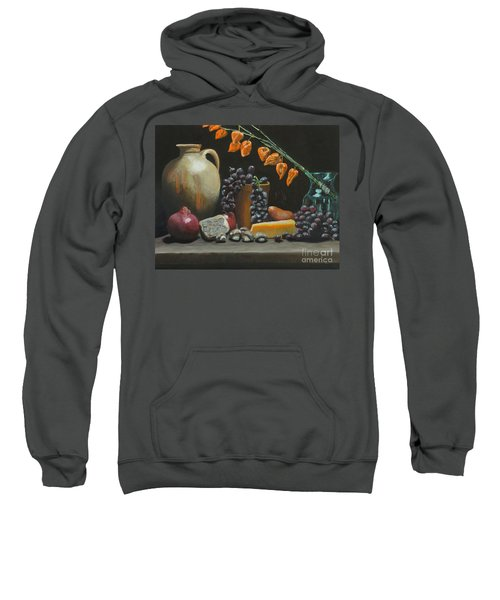 Spanish Urn And Japanese Lantern Sweatshirt