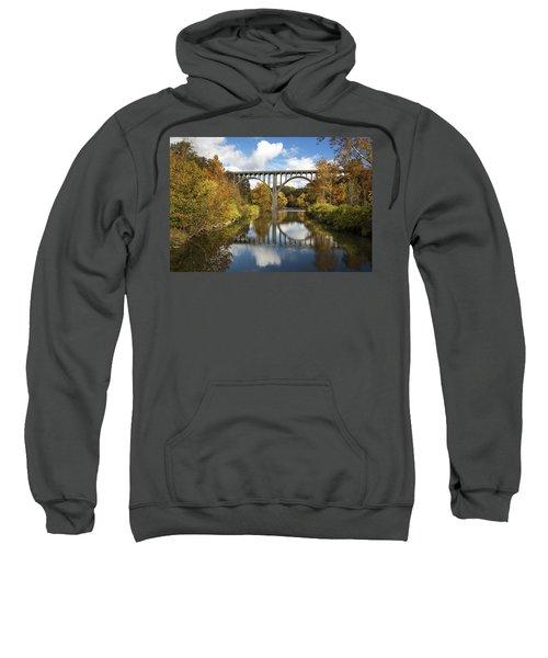 Spanning The Cuyahoga River Sweatshirt