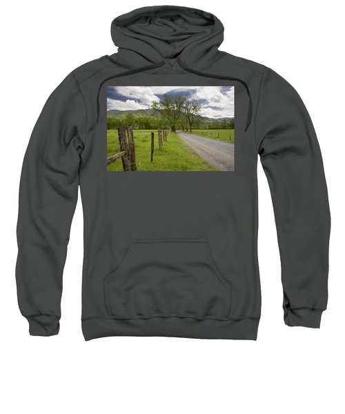 Sparks Lane In Cade Cove Sweatshirt