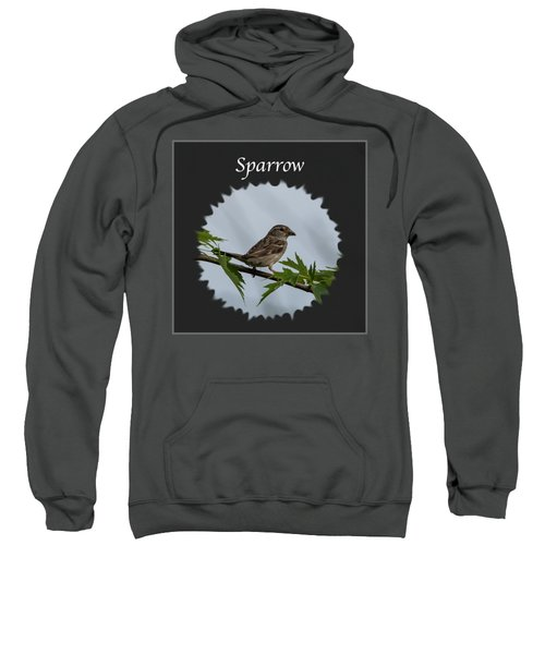 Sparrow   Sweatshirt by Jan M Holden
