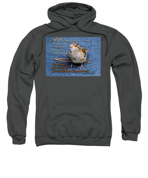Sparrow Scripture Matthew 10 Sweatshirt