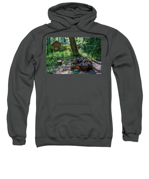 Sparsely Peppering The Landscape Sweatshirt