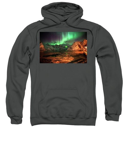 Spectacular Night In Lofoten 1 Sweatshirt