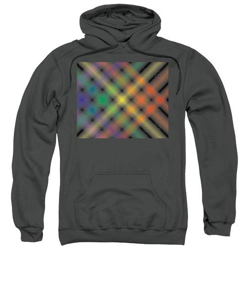 Spectral Shimmer Weave Sweatshirt