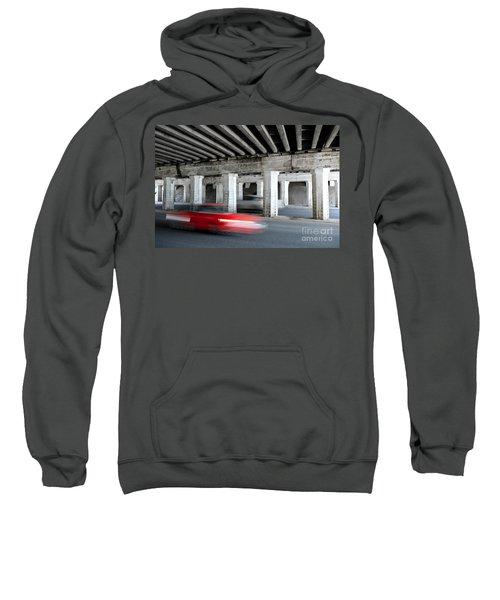 Speeding Car Sweatshirt