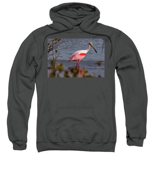 Spoonbill Fishing Sweatshirt