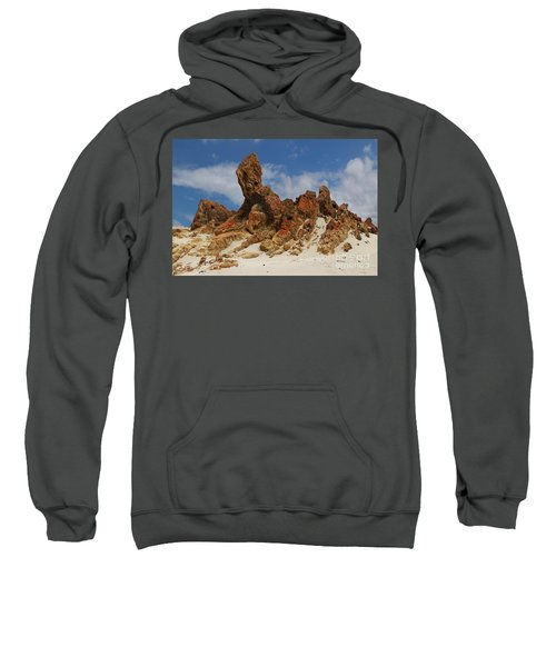 Sweatshirt featuring the photograph Sphinx Of South Australia by Stephen Mitchell