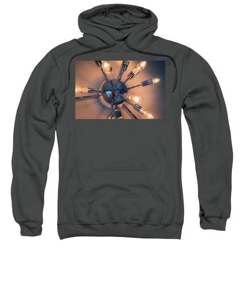 Spider Light Reflected Portrait Sweatshirt