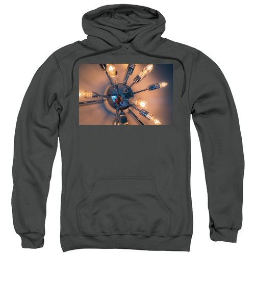 Spider Light Reflected Portrait Sweatshirt