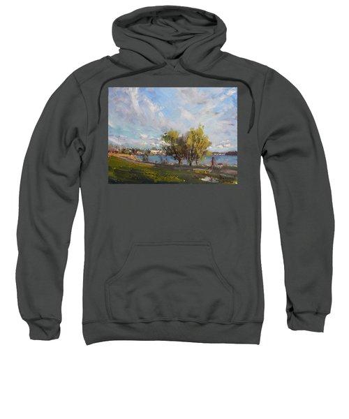 Spring At Gratwick Waterfront Park Sweatshirt