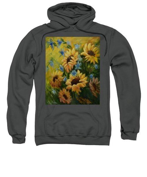 Sunflowers Galore Sweatshirt