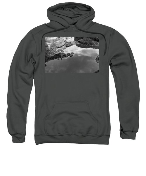 Spring Clouds Puddle Reflection Sweatshirt