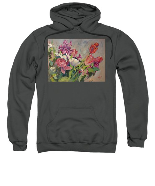 Spring Flowers Bouquet Sweatshirt