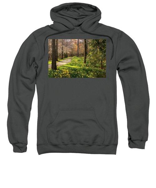 Spring Garden Path Sweatshirt