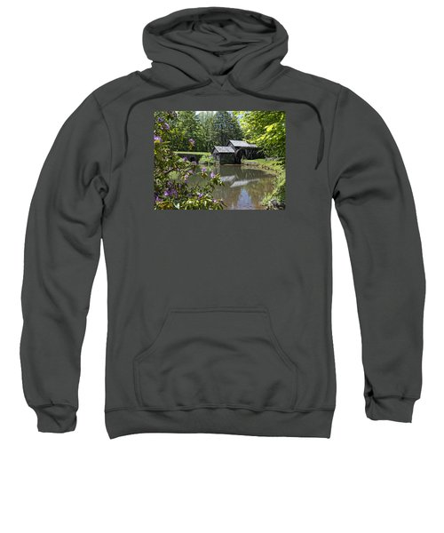 Spring Reflections Of An Ancient Mill Sweatshirt