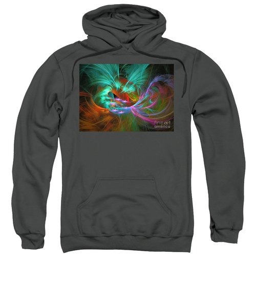 Spring Riot - Abstract Art Sweatshirt