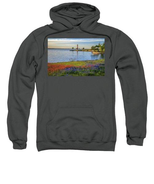 Spring Wildflowers Of Lake Buchanan Sweatshirt