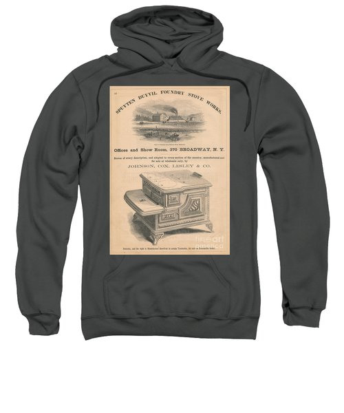 Spuyten Duyvil Stoveworks  Sweatshirt by Cole Thompson