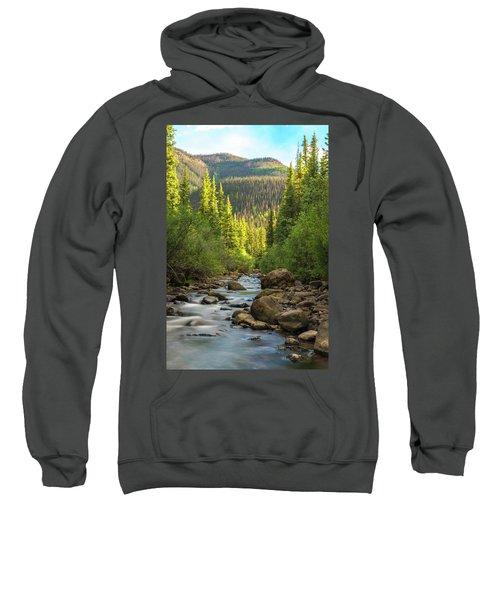 Squaw Creek, Colorado #2 Sweatshirt