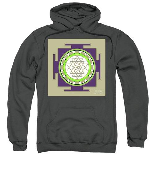 Sri Yantra Of Prosperity Sweatshirt