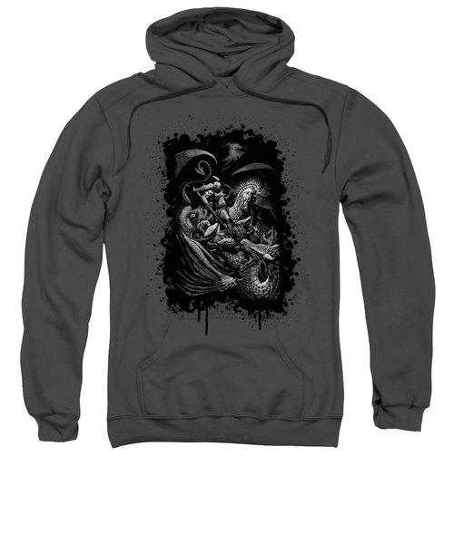 St. George And Dragon T-shirt Sweatshirt