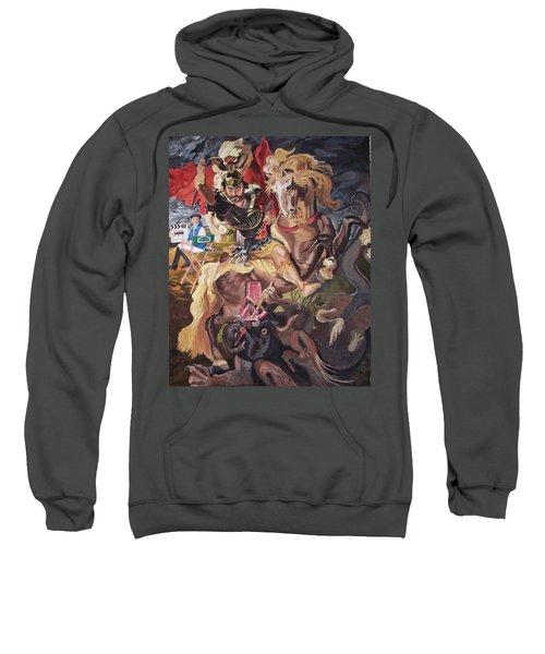 St George And The Dragon Sweatshirt