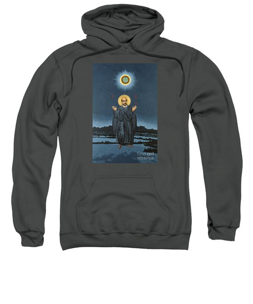 St. Ignatius In Prayer Beneath The Stars 137 Sweatshirt